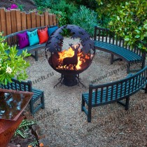 Fire pit, grill , outdoor fireplace