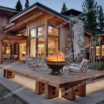 Fire pit, fire bowl, grill, outdoor fireplace