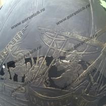Сфера для костра - уличный камин с опцией мангала