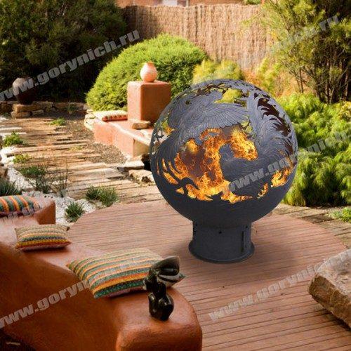 Сфера для костра Бой огненных петухов