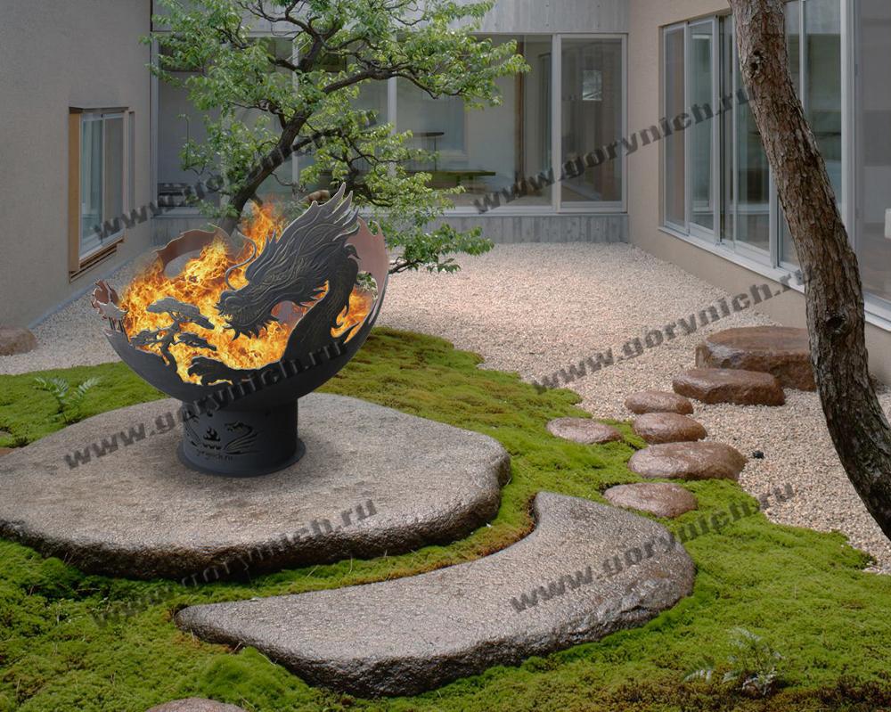 Чаша для костра «Огненный дракон»