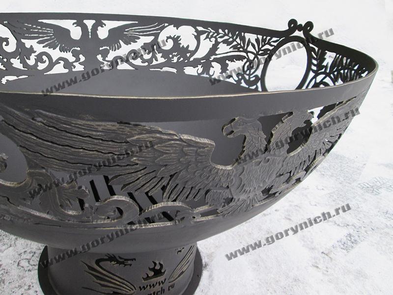 Костровая чаша - уличный очаг «Кубок императора»