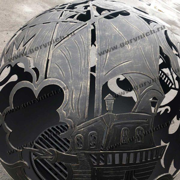 Сфера для костра «Баталия фрегатов»