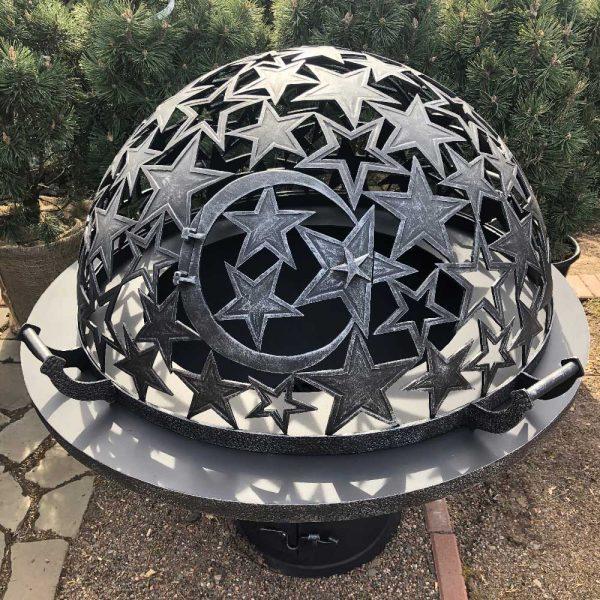 Резной купол ручной работы для уличных очагов «Звездное небо»