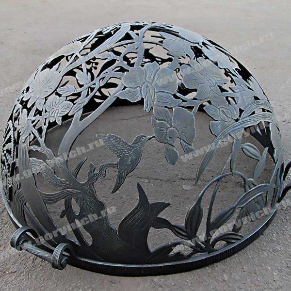 Купол для очага «Райский сад»
