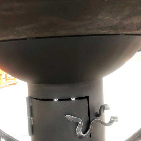 """Очаг-гриль """"Марс 2"""" с функциональным зольником"""