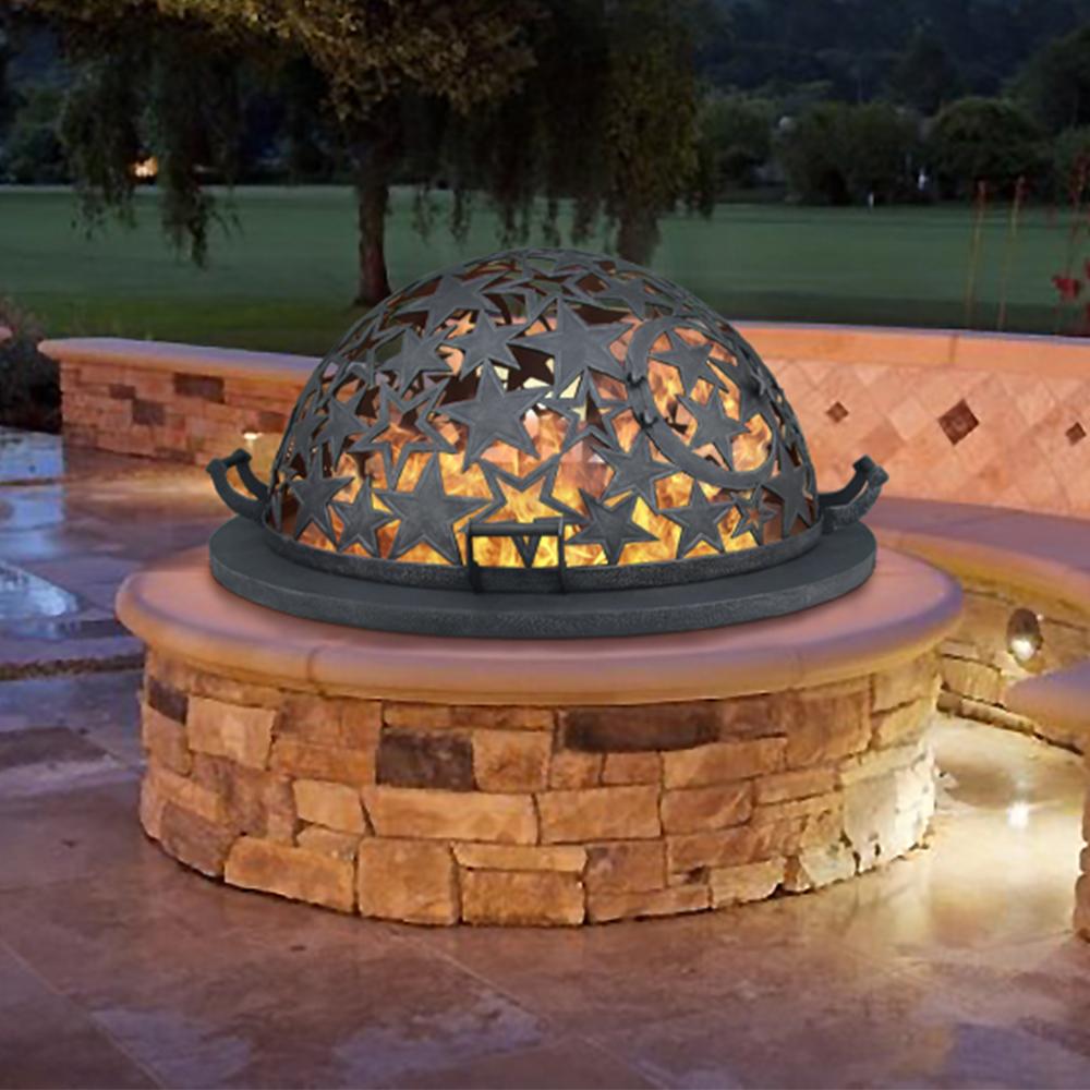 Купол для уличного кострового очага «Звездное небо»