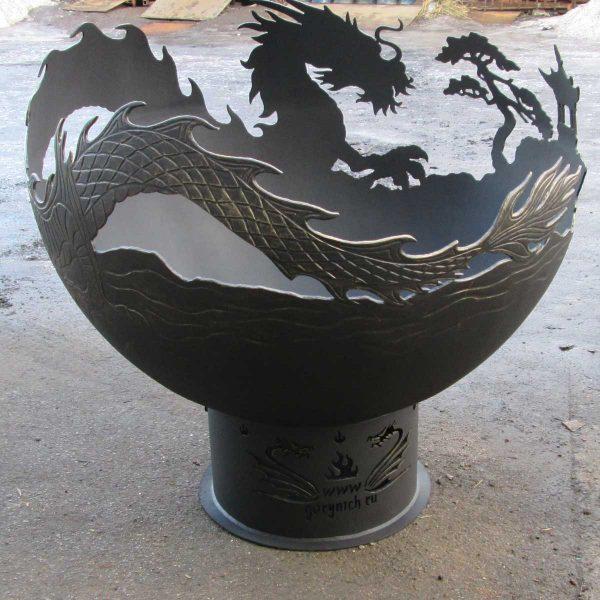 """Костровая чаша """"Огненный дракон"""""""