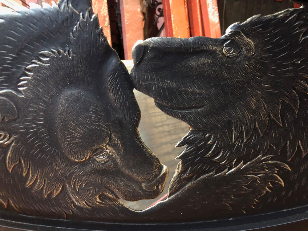 """Кованые скамейки """"Медведи"""""""