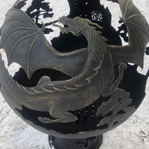 Сфера для костра - Замок дракона