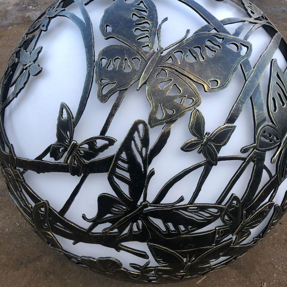 """Уличный светильник ручной работы""""Полет бабочек"""""""
