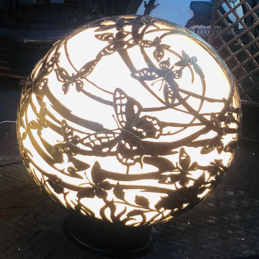 """Кованый светильник """"Полет бабочек"""". Moon light"""