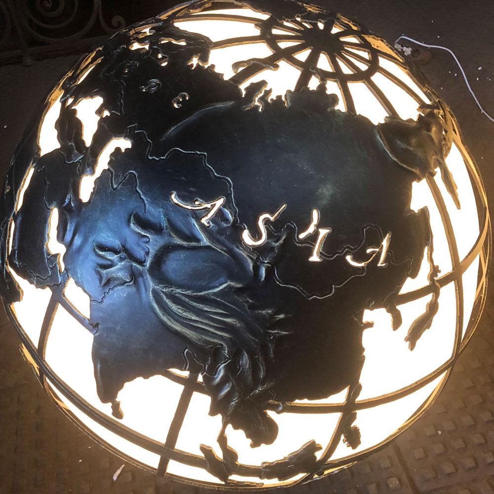 """Уличный светильник """"Глобус"""". Moon light"""